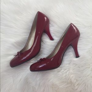 red bow candies pumps size 8 1/2
