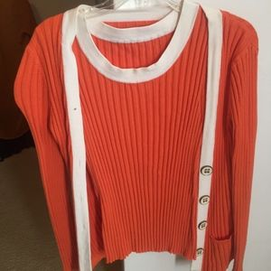 Sweaters - Cardigan and matching tank!