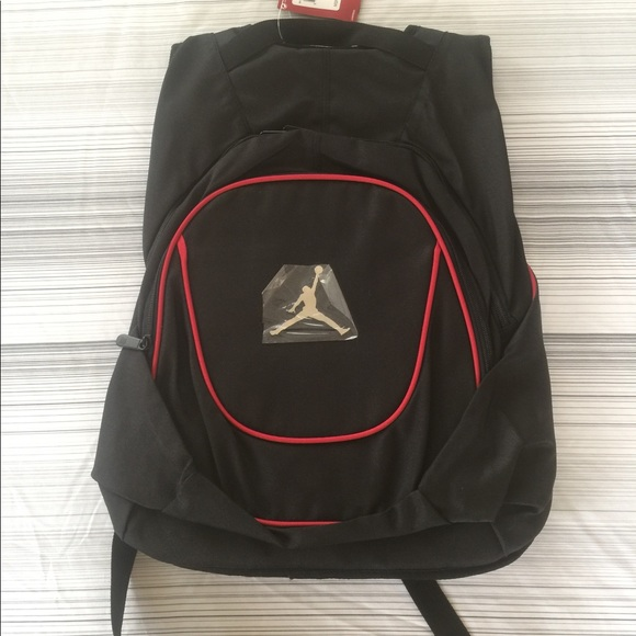 9fc8ed388122 Nike Air Jordan Backpack (Black   Red)