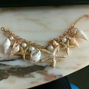 Jewelry - Shell Bracelet Statement Bracelet