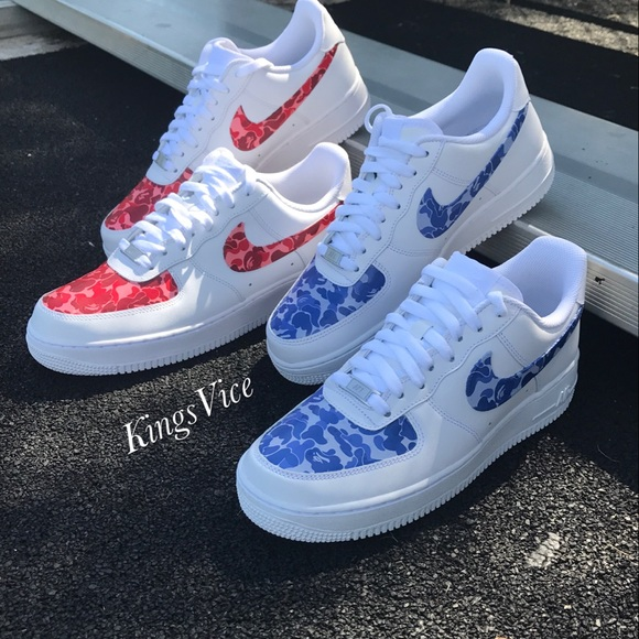 Air Force  Bape Camo