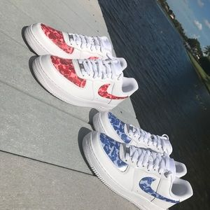 f41a2ae759a4 Nike Shoes - Air Force 1 Bape Camo