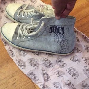 Juicy Couture Sneakers sz 10 ACCEPTING ALL OFFERS