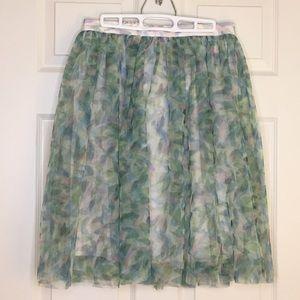 LC Lauren Conrad Disney Cinderella tulle skirt