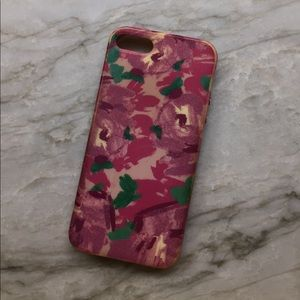 Floral J Crew iPhone case