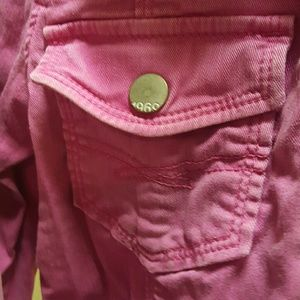 Gap Kids 1969 Pink Denim Jacket