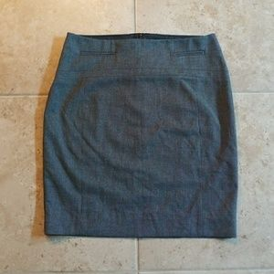 Express   Grey Business Pencil Skirt