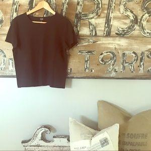 Eileen Fisher crew neck tee shirt