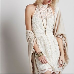 Brand new Free People lace halter dress
