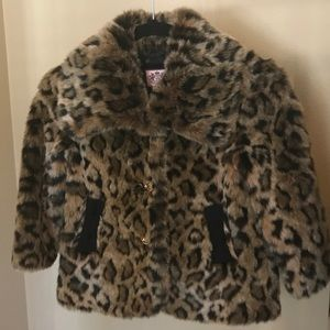 Juicy Faux Fur Leopard coat