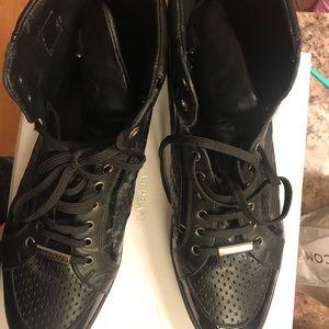 Men Versace sneakers.
