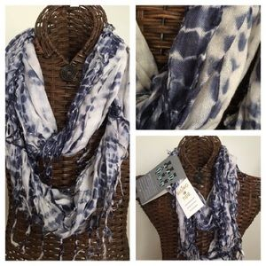 NWT, Rising Tide Infinity Scarf