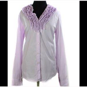 J Crew Elizabeth Dress Shirt Size 8