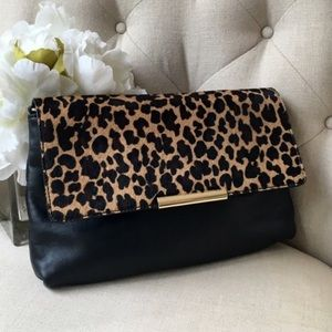 Leather Talbots Clutch