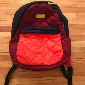 Marc by Marc Jacobs quilted multicolor backpack