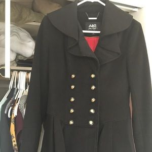 ABS Allen Schwartz Jacket with Gold Buttons