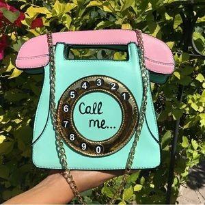 Handbags - Call Me Telephone Clutch