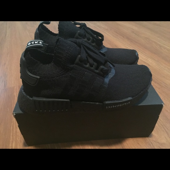 timeless design 32f5c 4452b adidas Shoes - Adidas NMD R1 PK Japan Triple Black US Size 5 Mens