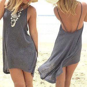 Dresses & Skirts - Sleeveless short backless dress