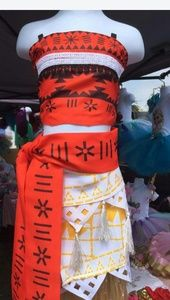 Other - Moana costume/birthday dress