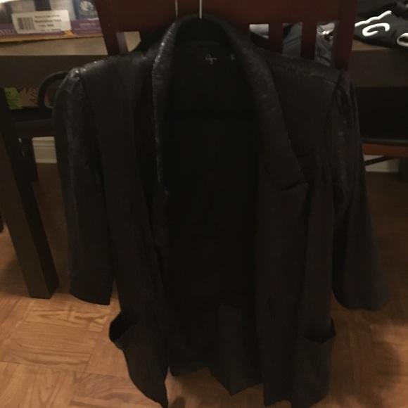 Aqua Jackets & Coats - Aqua Blazer