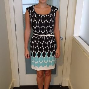 Maggy London belted dress