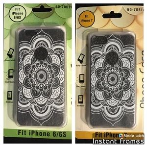 Accessories - Mandala clear iPhone 6/6s or 7 case