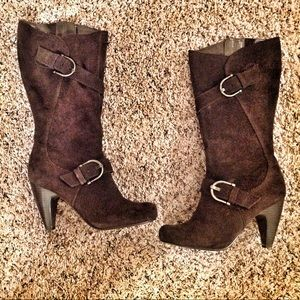 Kelly & Katie Suede Boots