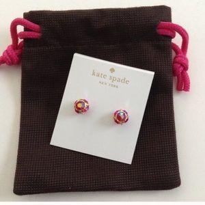 NWT Kate Spade Lady Marmalade Earrings