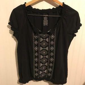 Tops - Women's L black shirt