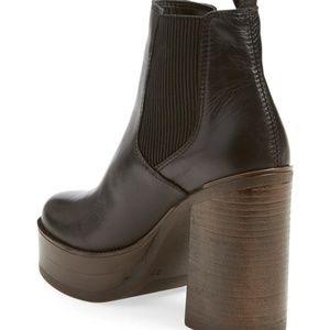 38b8fe7d746 Steve Madden Shoes - STEVE MADDEN GEANNA Platform Ankle Booties FIRM