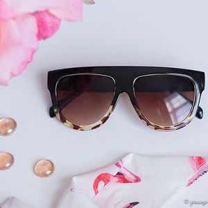 Accessories - Black Leopard Sunglasses