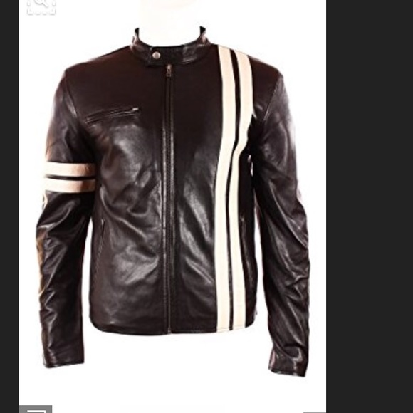 9ff9a92b8e40 Custom Jackets & Coats | Steve Mcqueen English Leather Racing Jacket ...