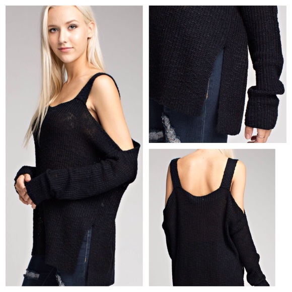 Honey Punch - 🎈SALE 🎈SHRUG IT OFF COLD SHOULDER SWEATER from ...