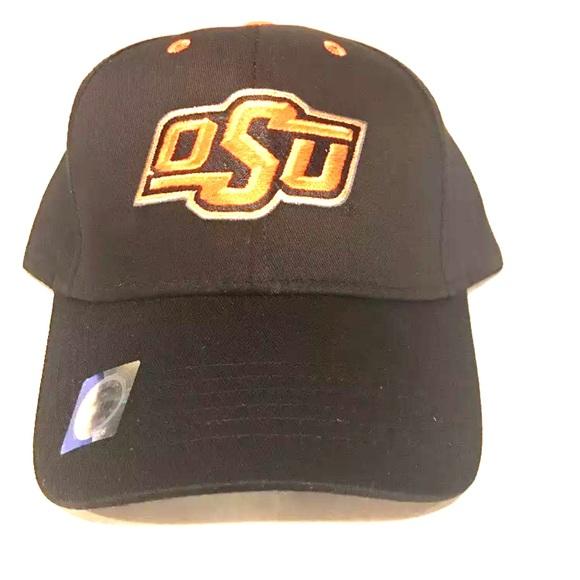 62b6db1d48e Oklahoma State Cowboys Hat Black And Orange