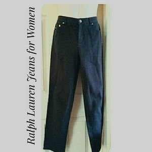 Ralph Lauren Black Jeans for Women Size 6
