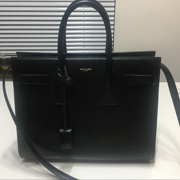 Yves Saint Laurent Bags   Small Sac De Jour Bag In Black   Poshmark d43d555613