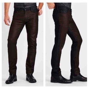 GUESS Slim Straight Jeans In Hitchhiker Wash