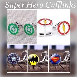 Other - Super Hero Men's Cufflinks