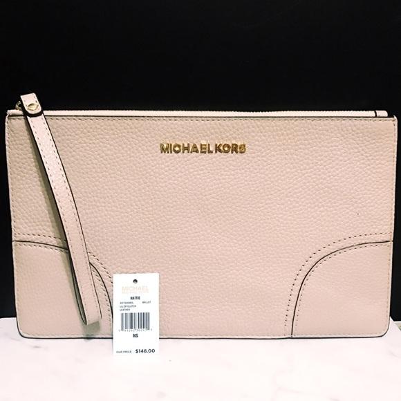 07b8ba6c0594 Brand NWT MK Large Ballet Hattie Zip Wallet