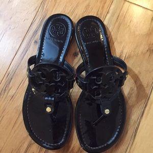 Tory burch sandals black