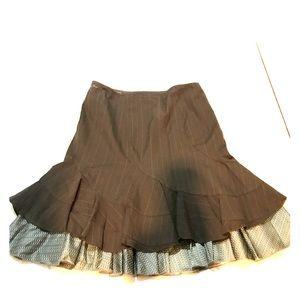 DKNY Pinstripe Skirt Sz 12