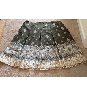NWOT Beautiful Charter Club Skirt