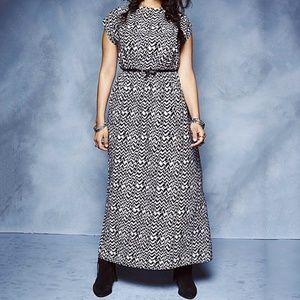 Simply Be Navajo Print Maxi Dress