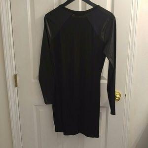Missguided Dresses - Vintage MissGuided Black Sleek Sleeve Dress