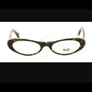 Dolce & Gabbana tortoise cat eye glasses