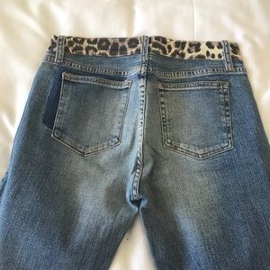 ABS Leopard Jeans - Size 29