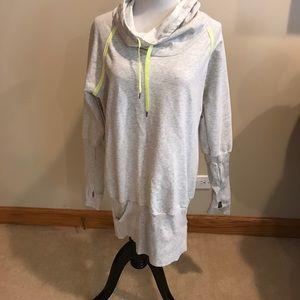 Lucy M cowl neck cowlneck tunic sweatshirt