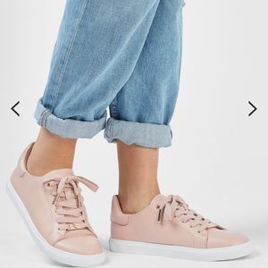 Topshop Catseye2 Lace Up Trainers