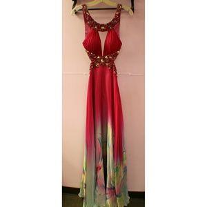 Sherri Hill Backless Gown